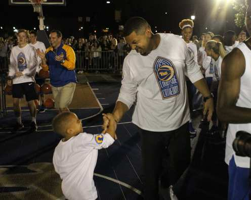 Jeff Capel at Courtside by the Cathedral October 5, 2018 -- DAVID HAGUE
