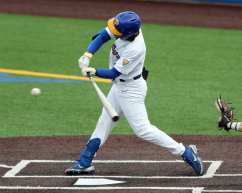 Sky Duff (3) Pitt Baseball March 26, 2021 - Photo by David Hague/PSN