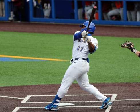 Ron Washington Jr (23) Pitt Baseball March 26, 2021 - Photo by David Hague/PSN