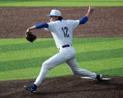 Chase Smith (12) Pitt Baseball March 26, 2021 - Photo by David Hague/PSN