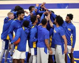 Pitt Mens Basketball December 22, 2020 - Photo by David Hague/PSN