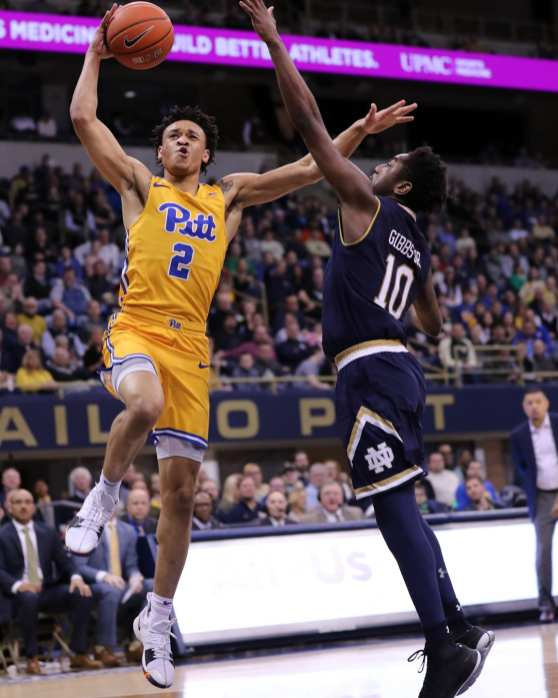 Trey McGowens (2) March 9, 2019 -- David Hague/ PSN