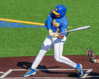 Kyle Hess (21) Pitt Baseball March 28, 2021 - Photo by David Hague/PSN