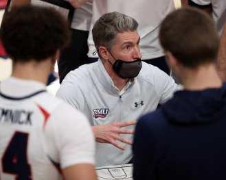 Coach Andrew Toole January 1, 2021 Photo by David Hague/PSN