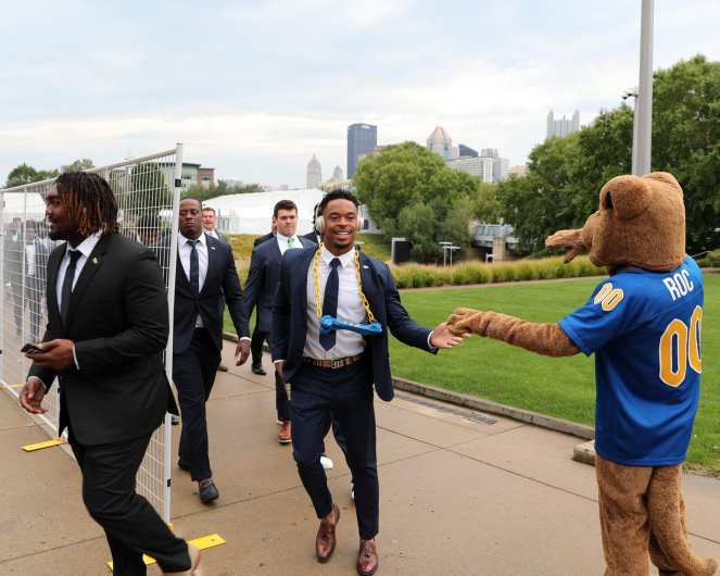 Pitt Football Panther Prowl September 28, 2019 -- David Hague/PSN