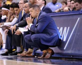 Jeff Capel February 16, 2019 -- David Hague/PSN