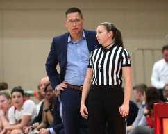 Coach Dan Burt March 3, 2020 - David Hague/PSN
