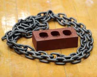 Chain and Brick Pitt Gymnastics January 12, 2019 -- David Hague/PSN