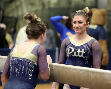 Olivia Miller Pitt Gymnastics January 12, 2019 -- David Hague/PSN