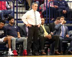 Duquesne Head Coach Keith Dambrot March 2, 2019 -- David Hague/PSN