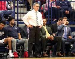 Duquesne Head Coach Keith Dambrot March 2, 2019 -- David Hague/PSN