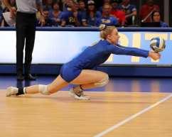 Stephanie Williams (13) for Pitt Volleyball September 22, 2019 -- David Hague/PSN