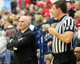 Saint Joseph's head coach Phil Martelli January 12, 2019 -- David Hague/PSN