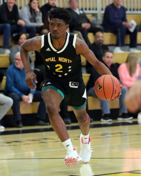 MJ Devonshire (2) in the PBC Roundball Classic April 28, 2019 -- David Hague/PSN
