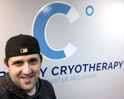 David Hague visits Cranberry Cryotherapy