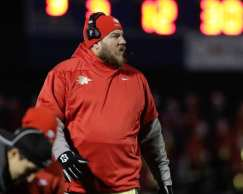 Penn Hills Coach Jon LeDonne November 23, 2018 — BEN BAMFORD