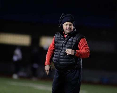 West Allegheny head coach Bob Palko November 23, 2018 — BEN BAMFORD