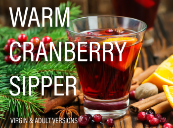 Warm Cranberry Sipper