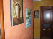 parete corridoio effetto Sabulador- Valpaint