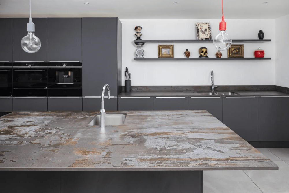 Worktops which serve up style