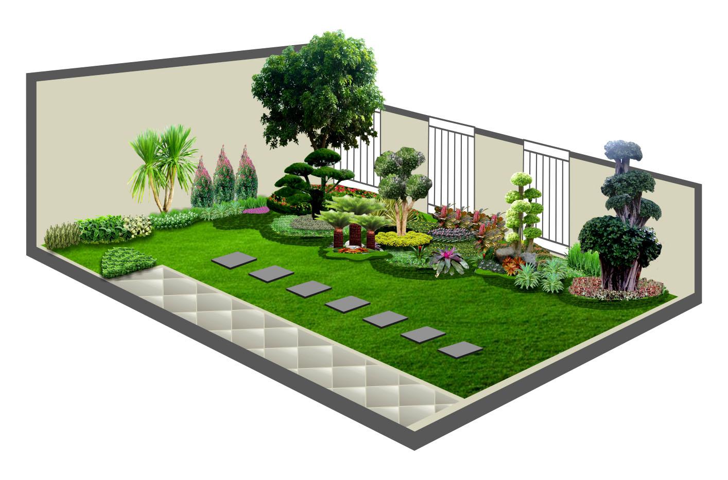 tukang taman bintaro  tukang taman minimalis
