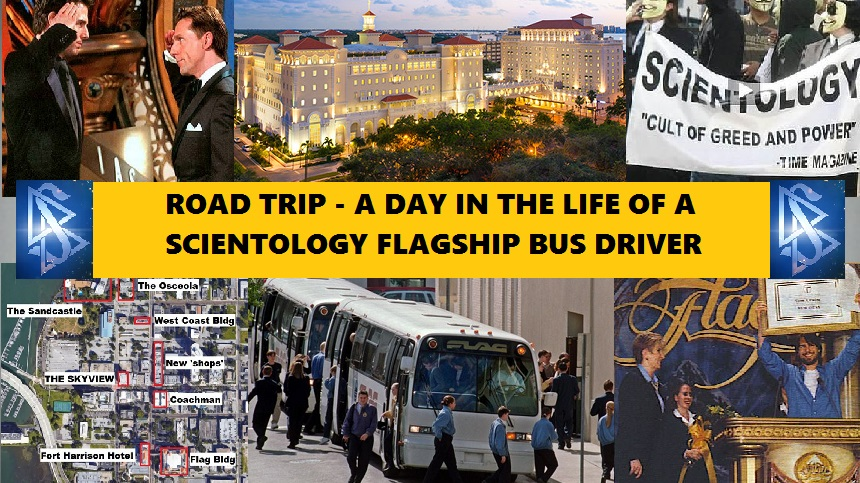 ROADTRIP – A Day in the Life of a Scientology Flagship Bus Driver