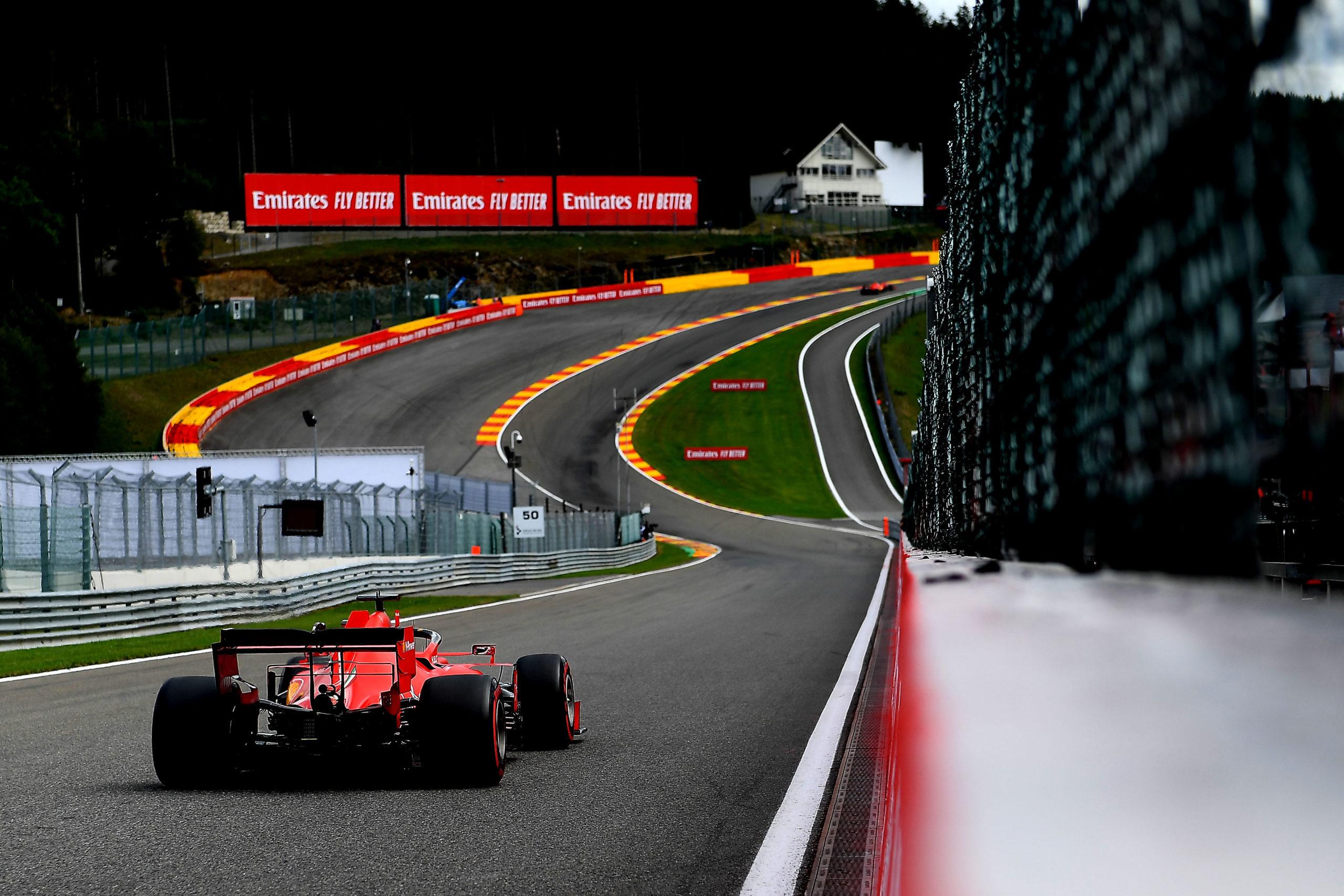 GP BELGIO F1/2020 -  SABATO 29/08/2020    credit: @Scuderia Ferrari Press Office,  Vettel