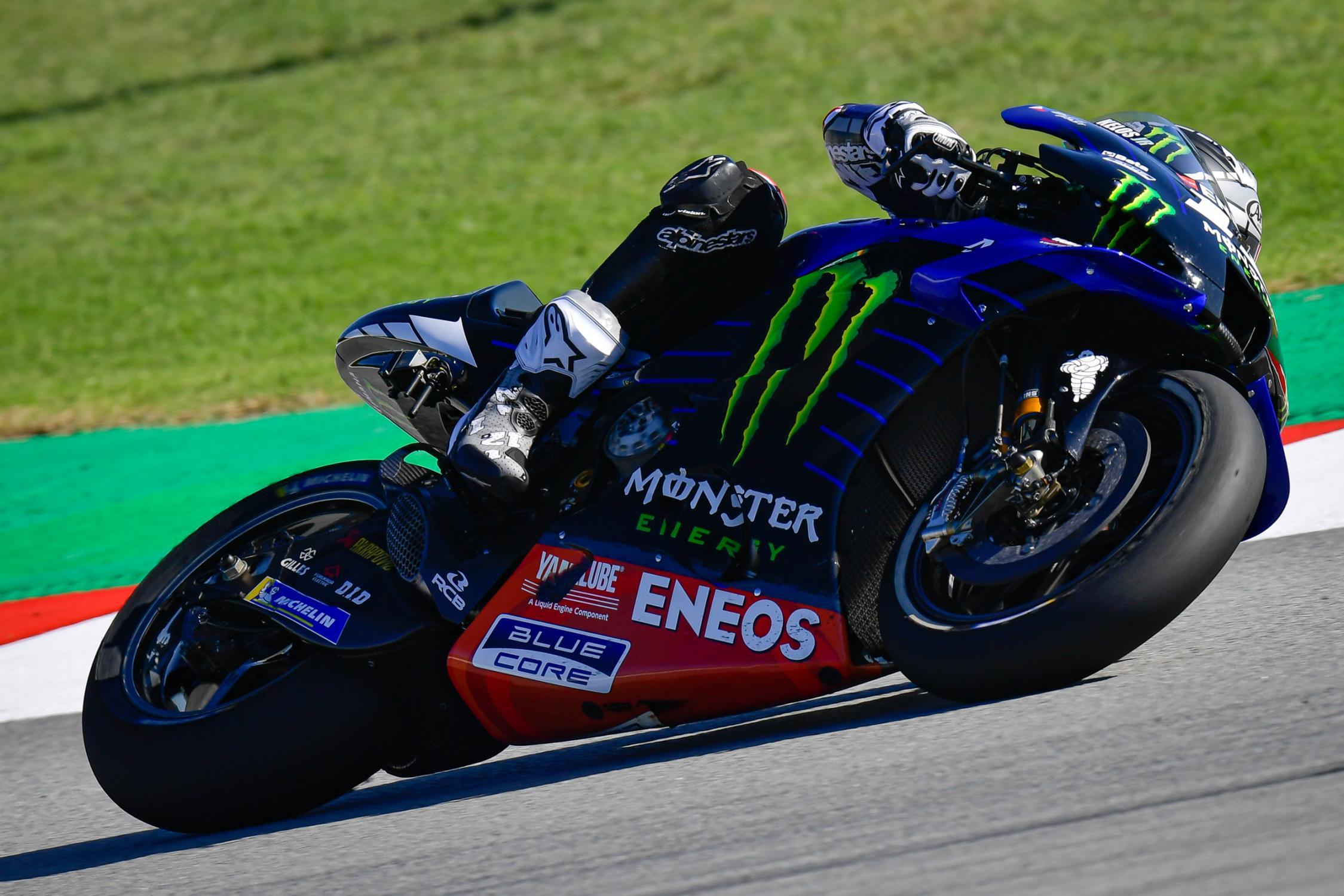 Maverick Viñales, Monster Energy Yamaha MotoGP, Circuit Barcelona Catalunya 2020