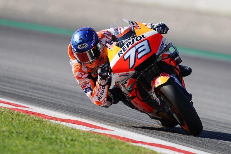 Alex Márquez. Repsol Honda HRC MotoGP, Circuit Barcelona Catalunya 2020