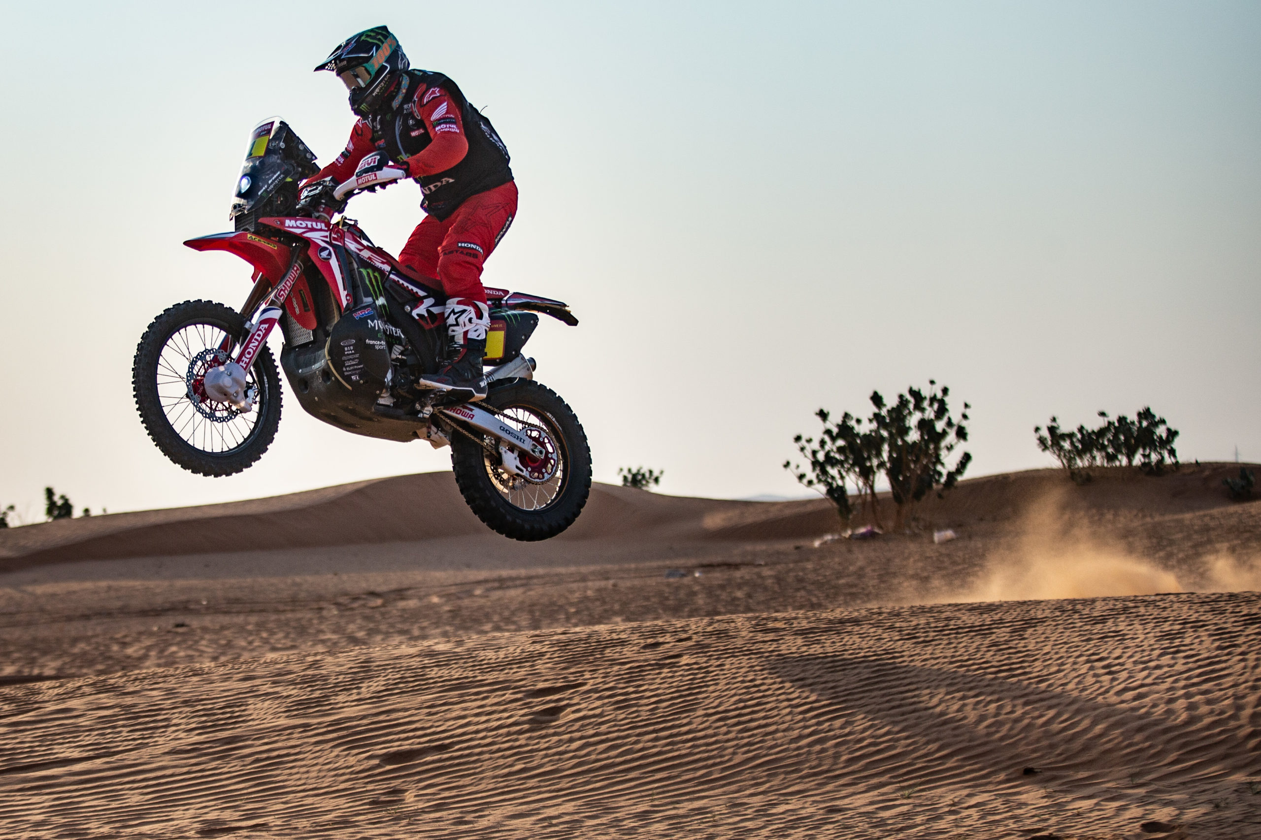 Ricky Brabec, Honda HRC, Dakar 2021