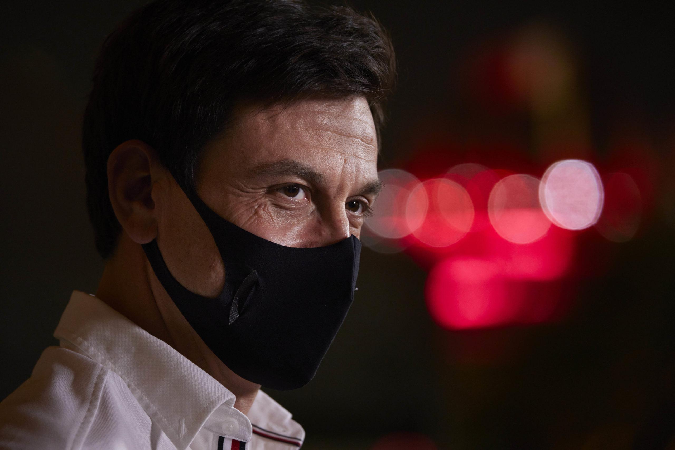 Toto Wolff, Mercedes, 2021 Bahrain Grand Prix, Friday - Steve Etherington