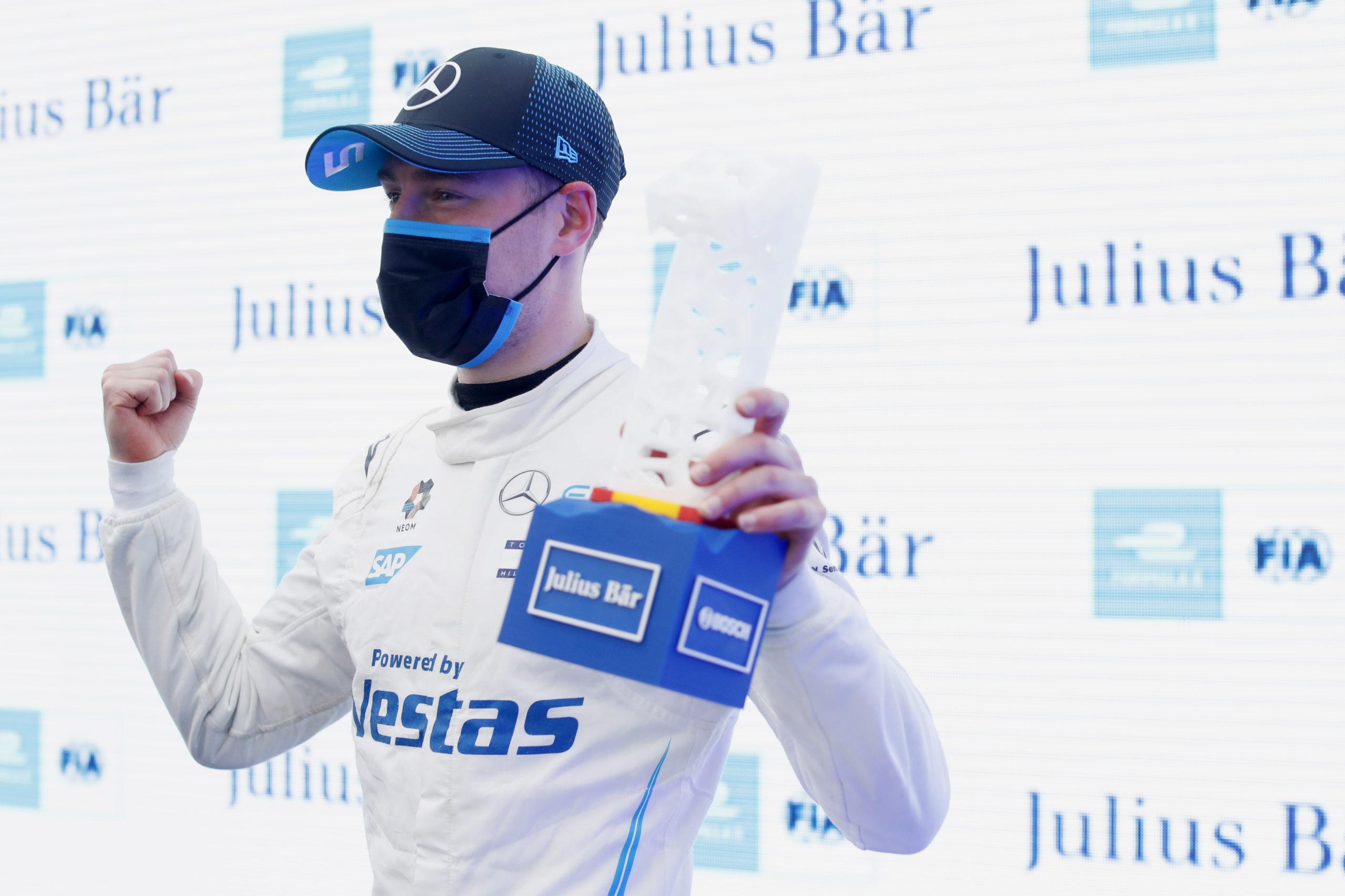 Stoffel Vandoorne (BEL), Mercedes Benz EQ, Valencia ePrix 2021, Formula-E