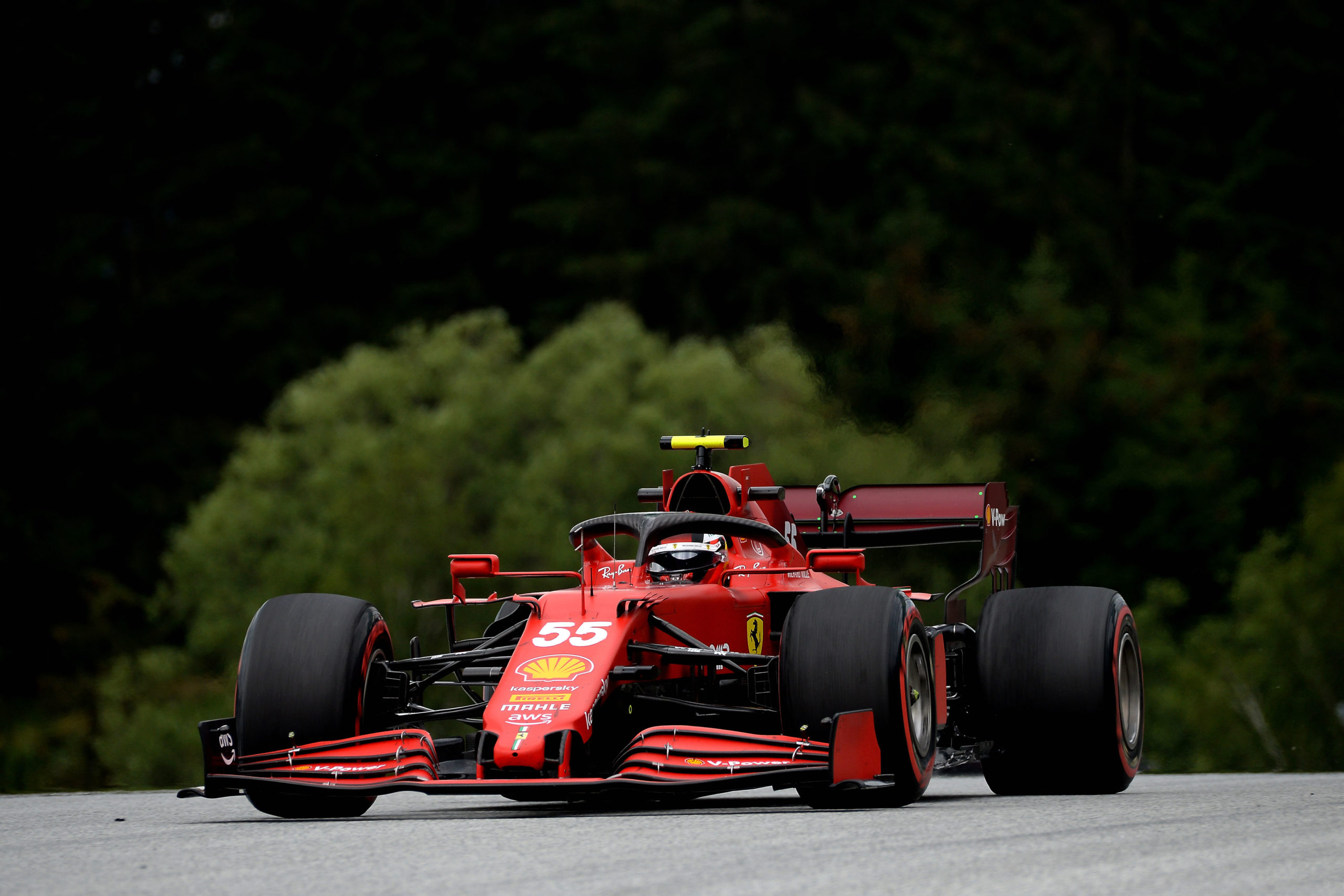 Carlos Sainz, Ferrari, GP AUSTRIA F1/2021 - VENERDI 02/07/2021   credit: @Scuderia Ferrari Press Office