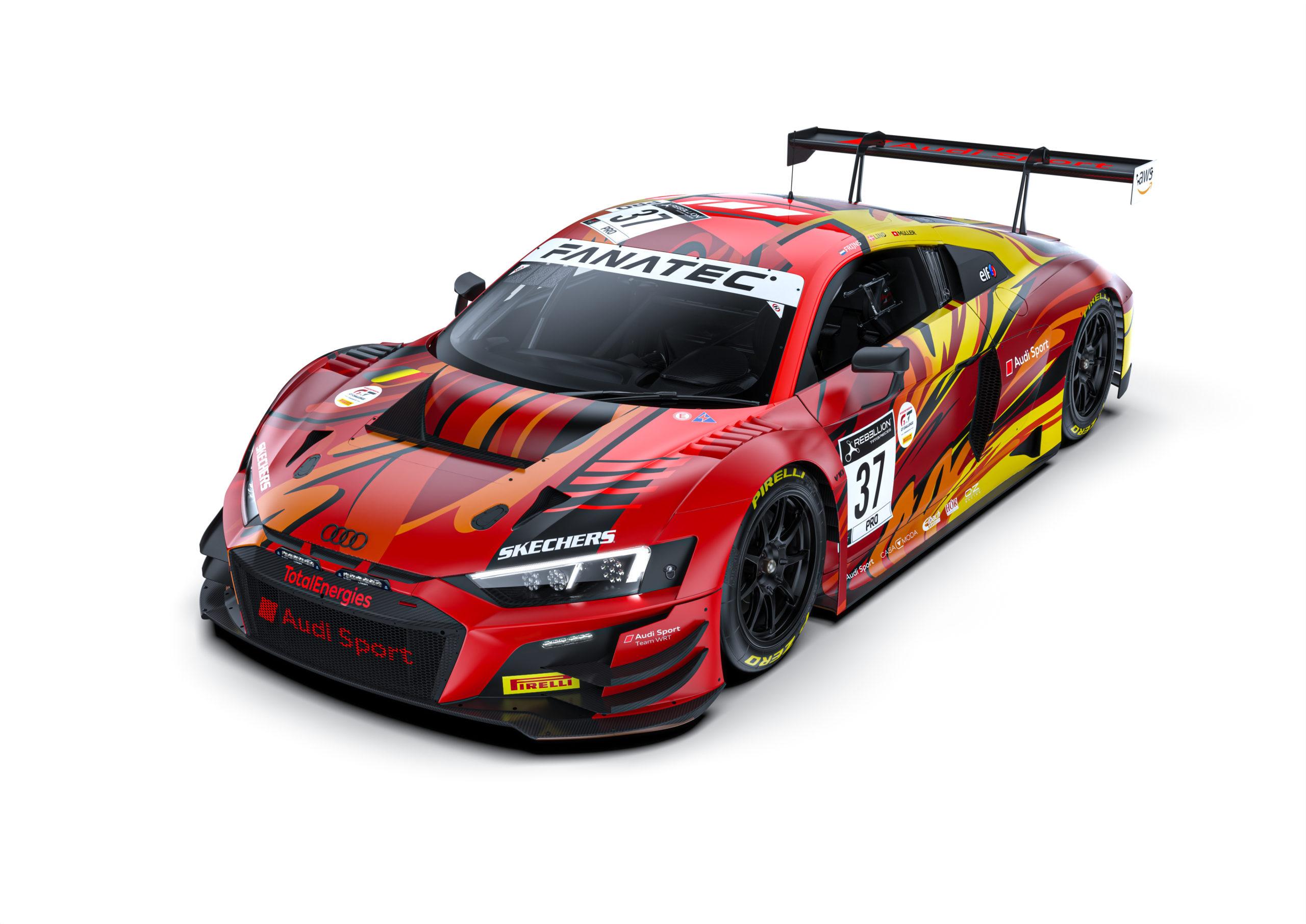 Robin Frijns-Dennis Lind-Nico Müller-WRT Team-Fanatec GT World Challenge-Total 24h of Spa 2021