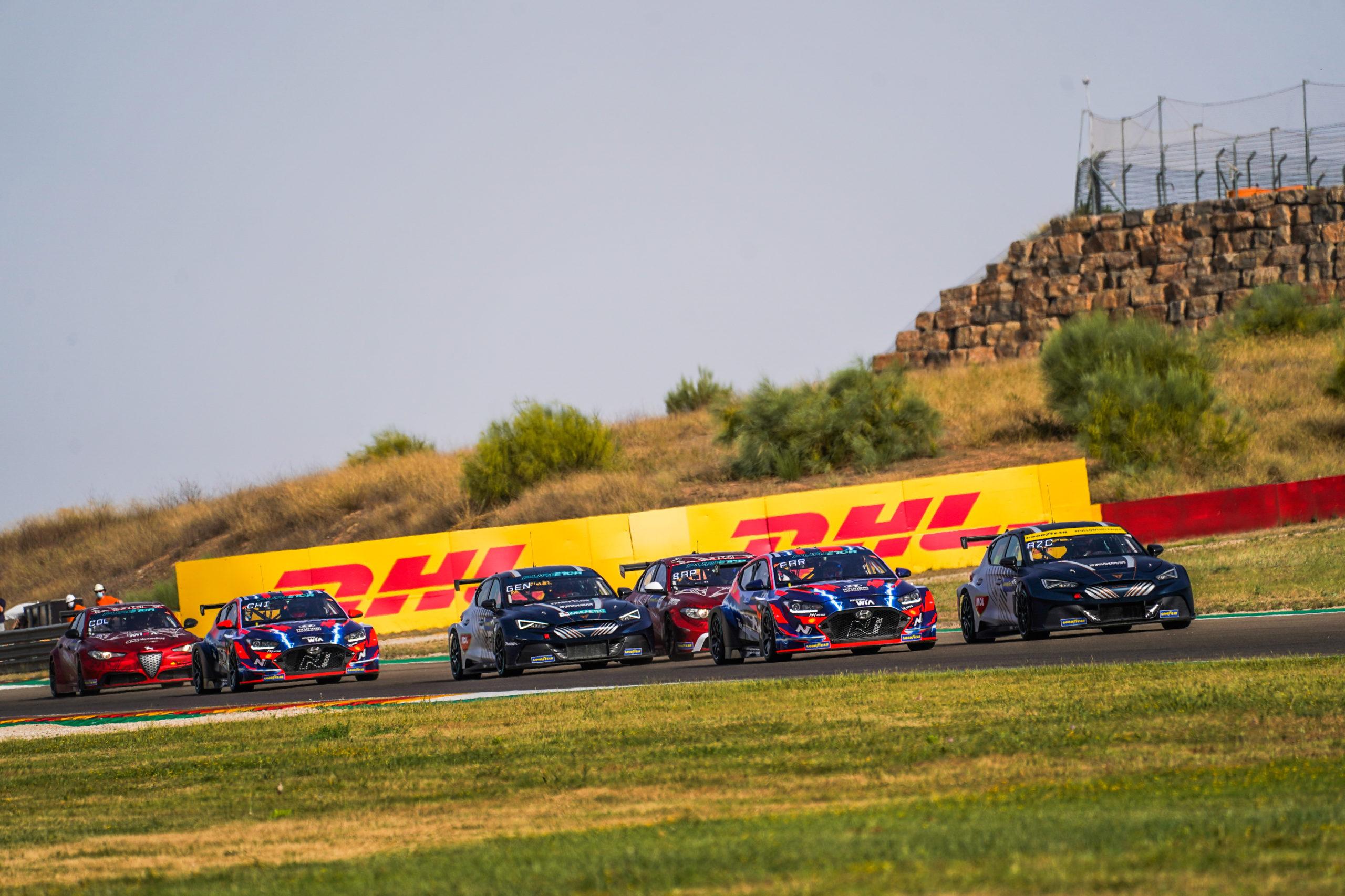 Las tres marcas durante pasado fin de semana en Aragón