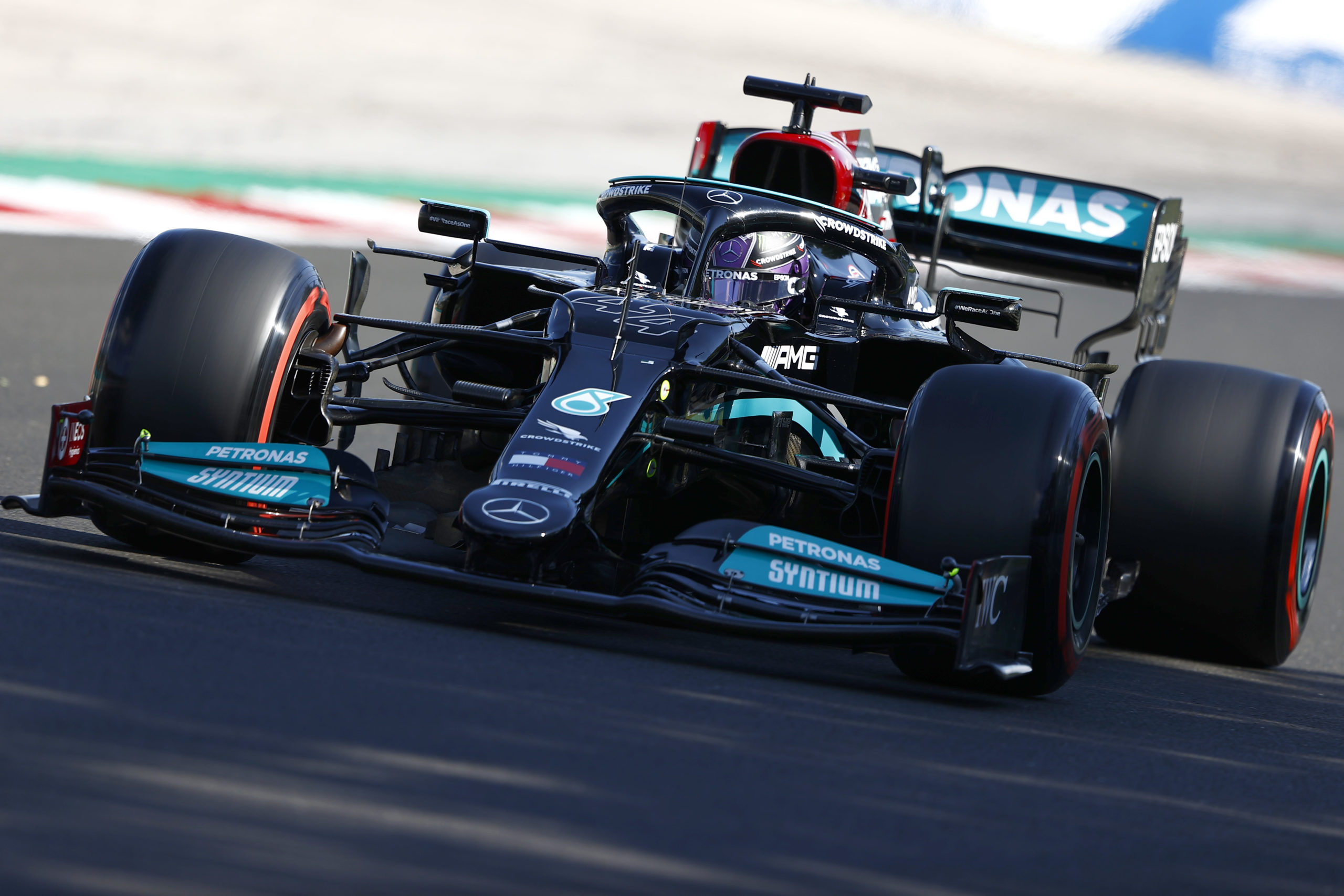 Lewis Hamilton, Mercedes, 2021 Hungarian Grand Prix, Saturday - LAT Images