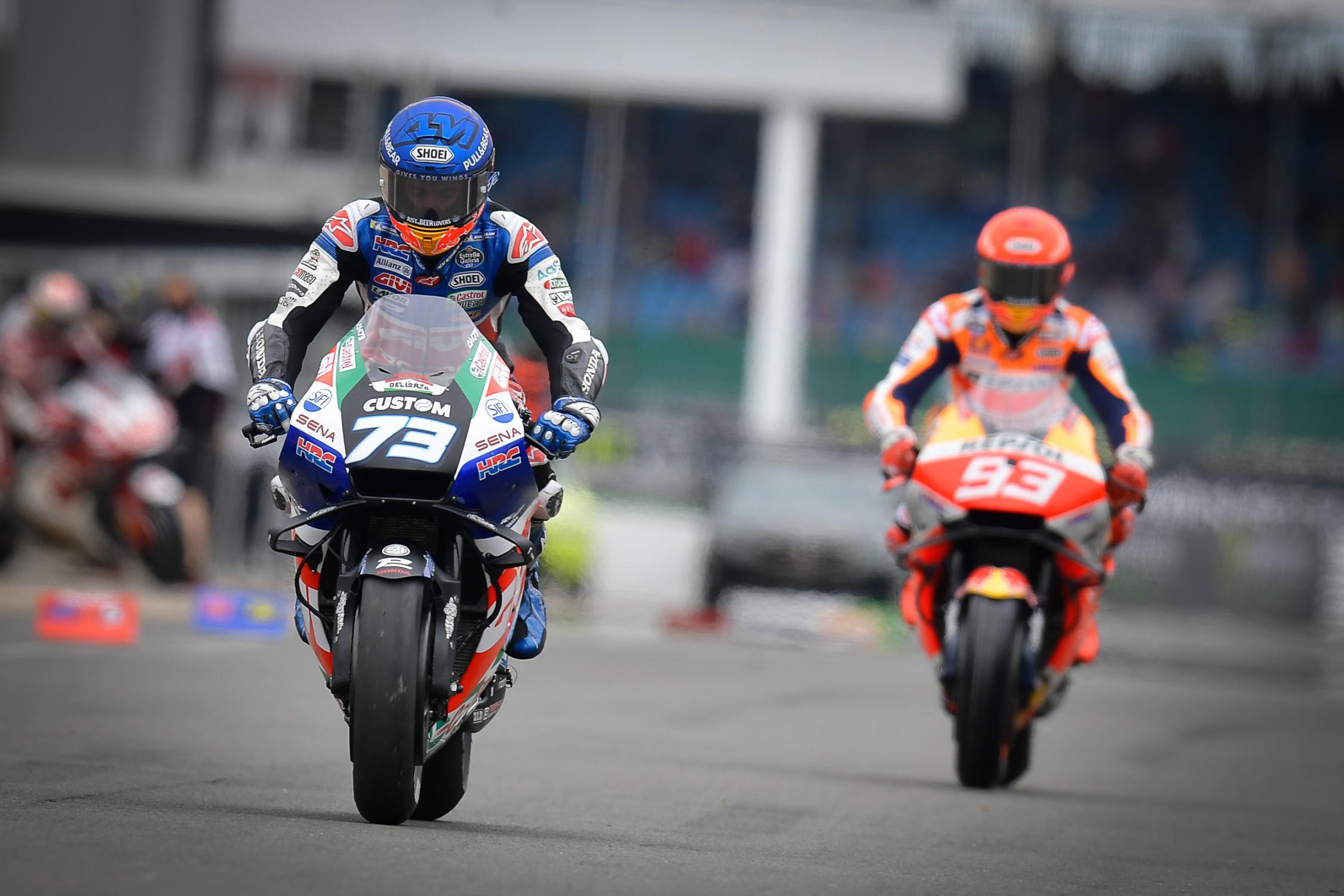 Alex Marquez, Marc Márquez, LCR Honda, Monster Energy British Grand Prix