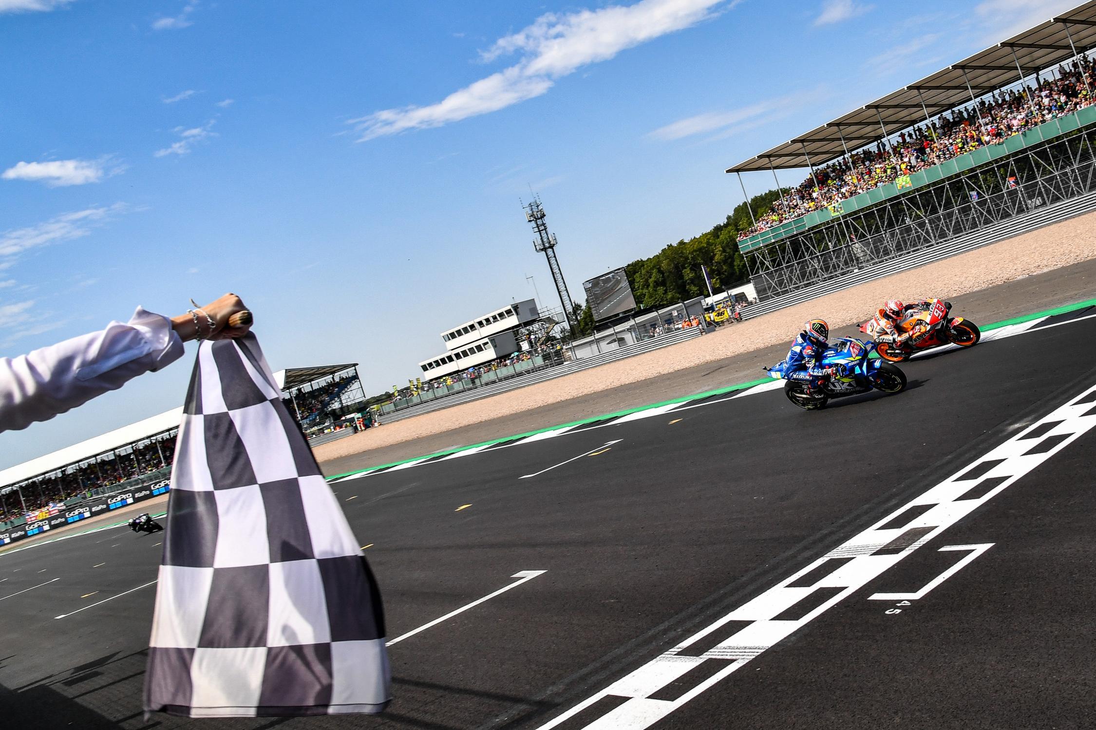Alex Rins, Marc Márquez, MotoGP, GoPro British Grand Prix 2019