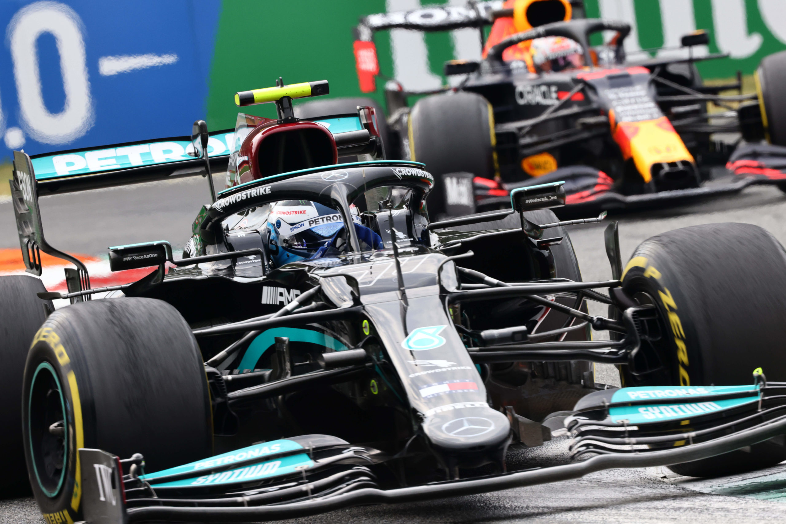 Valtteri Bottas, Mercedes, 2021 Italian Grand Prix, Friday - Steve Etherington