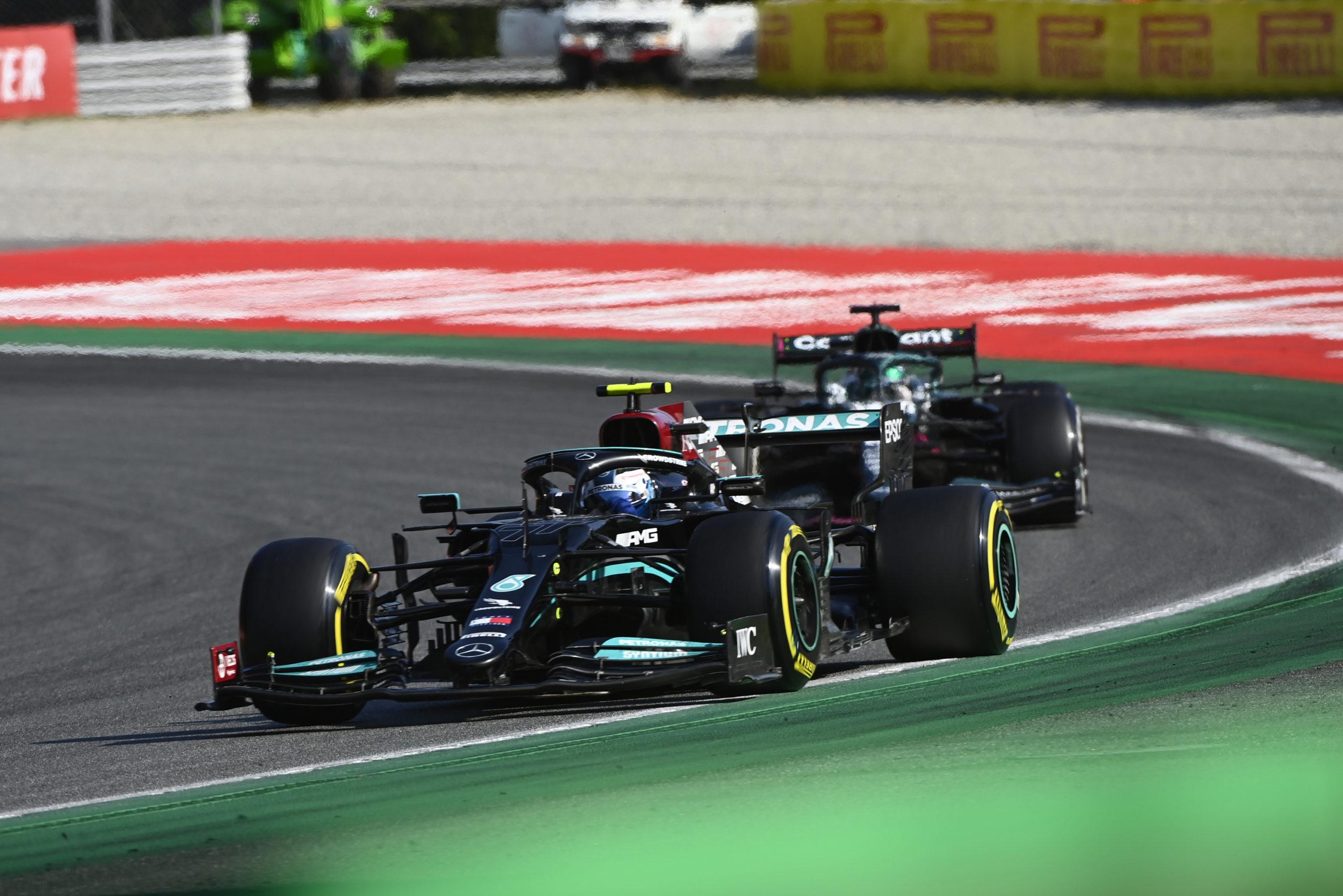 Valtteri Bottas, Mercedes, 2021 Italian Grand Prix, Sunday - LAT Images