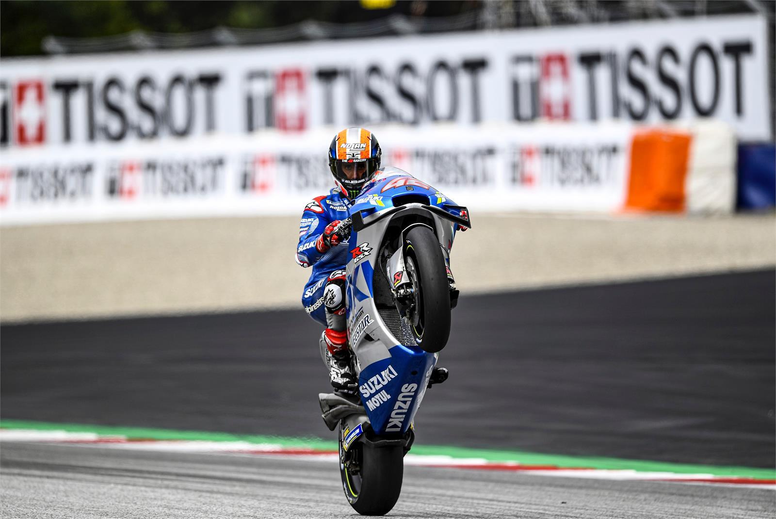 Alex Rins, Suzuki Ecstar, MotoGP Austria 2020