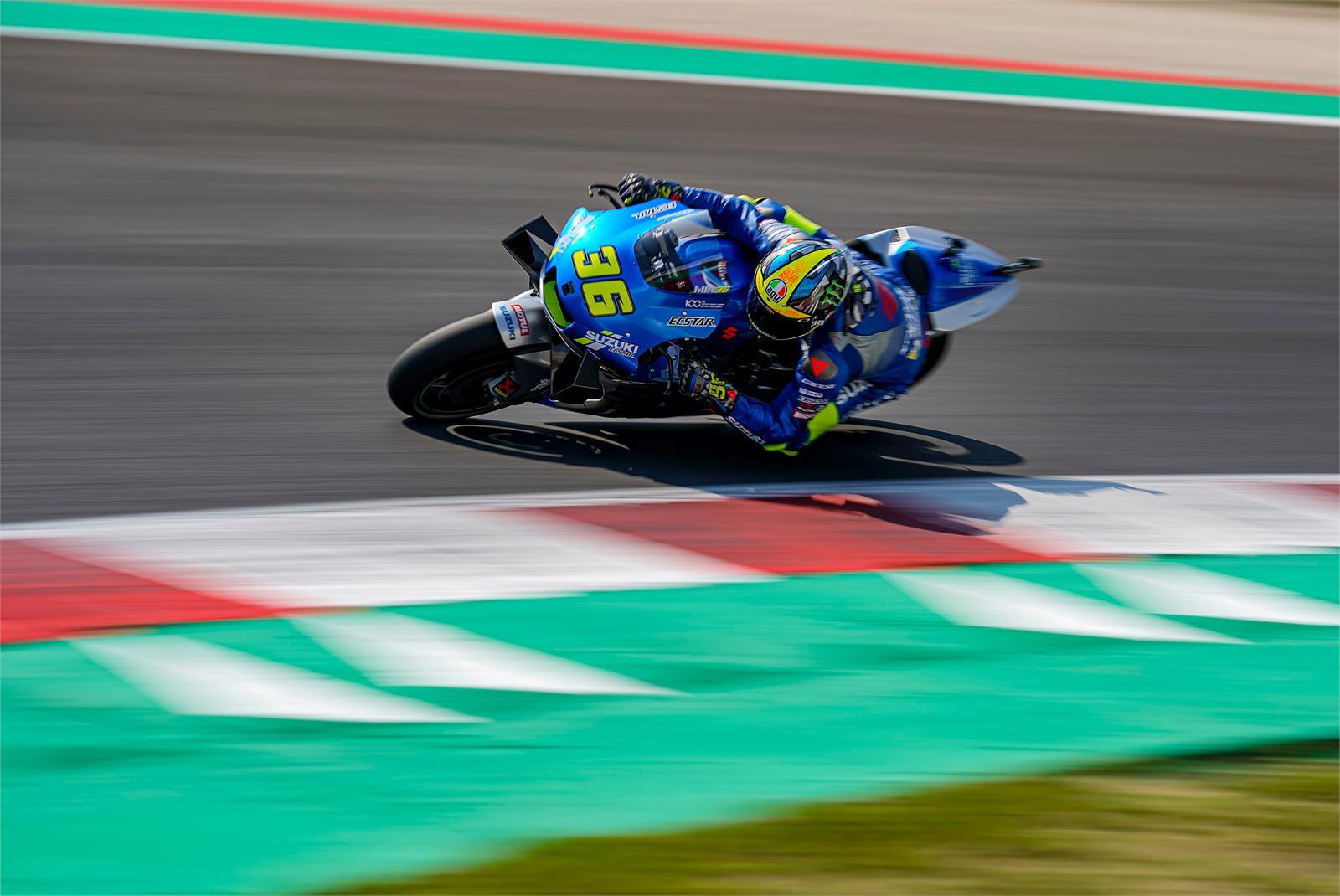 Joan Mir, test misano 2020, Ecstar Suzuki MotoGP
