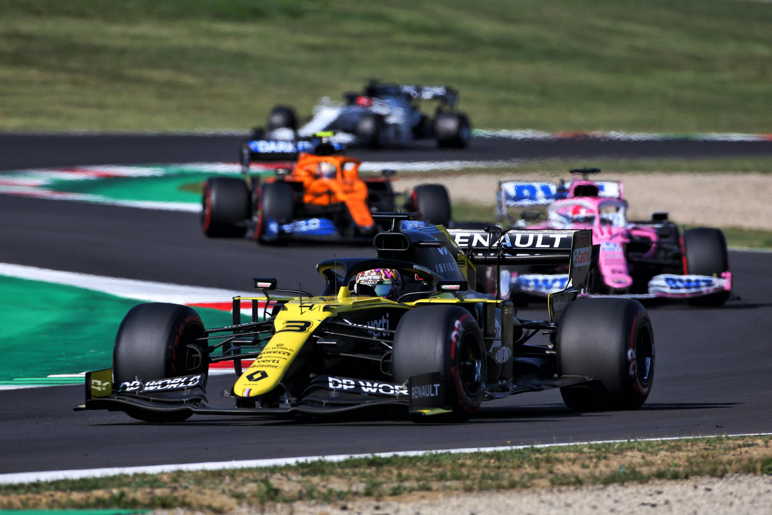 Daniel Ricciardo (AUS) Renault F1 Team RS20. Tuscan Grand Prix, Sunday 13th September 2020. Mugello Italy.