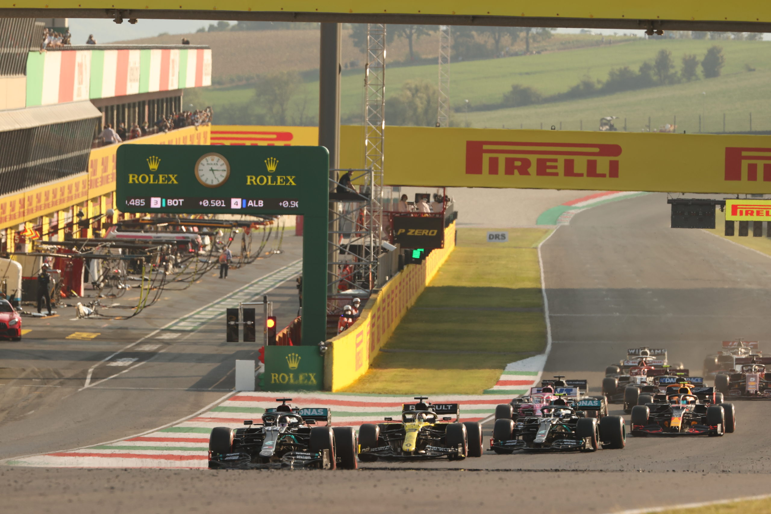 2020 Tuscan Grand Prix, Sunday - Wolfgang Wilhelm, Mercedes, Hamilton, Bottas