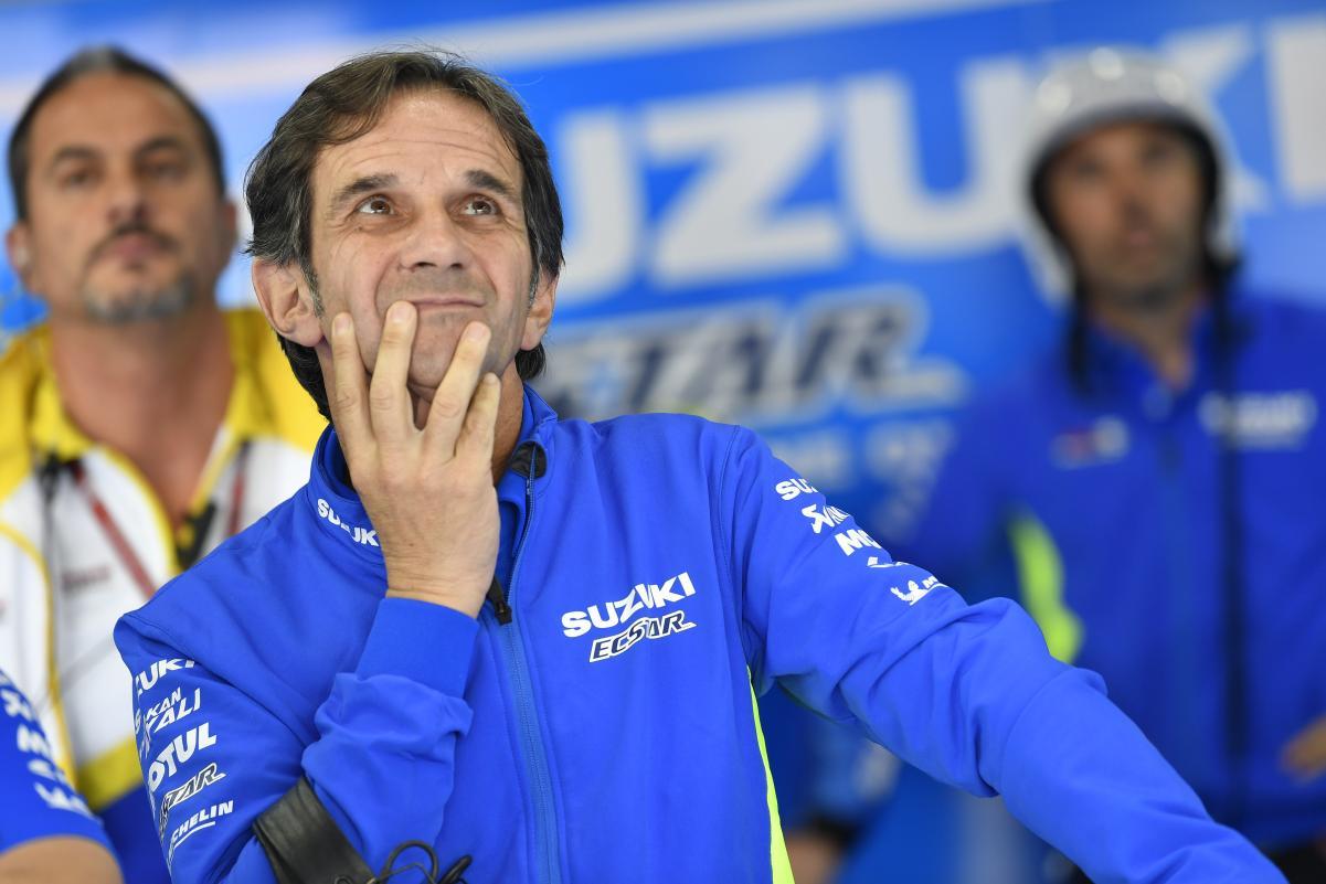 Davide Brivio, MotoGP, Suzuki