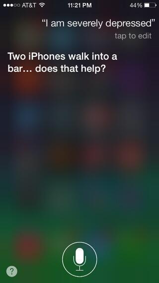 Siri - Depressed