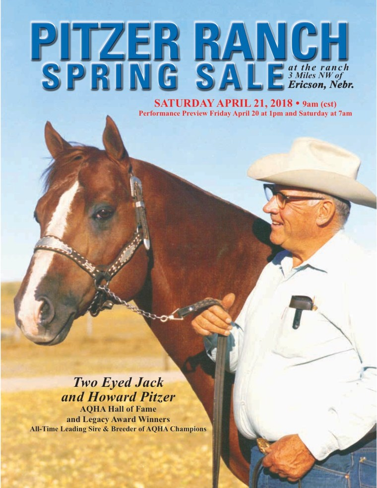 Pitzer Ranch Spring Sale 2018