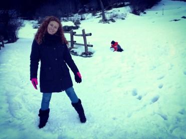 Io nella neve