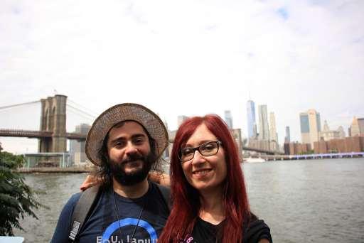 interviste di viaggio valeria e eric a new york