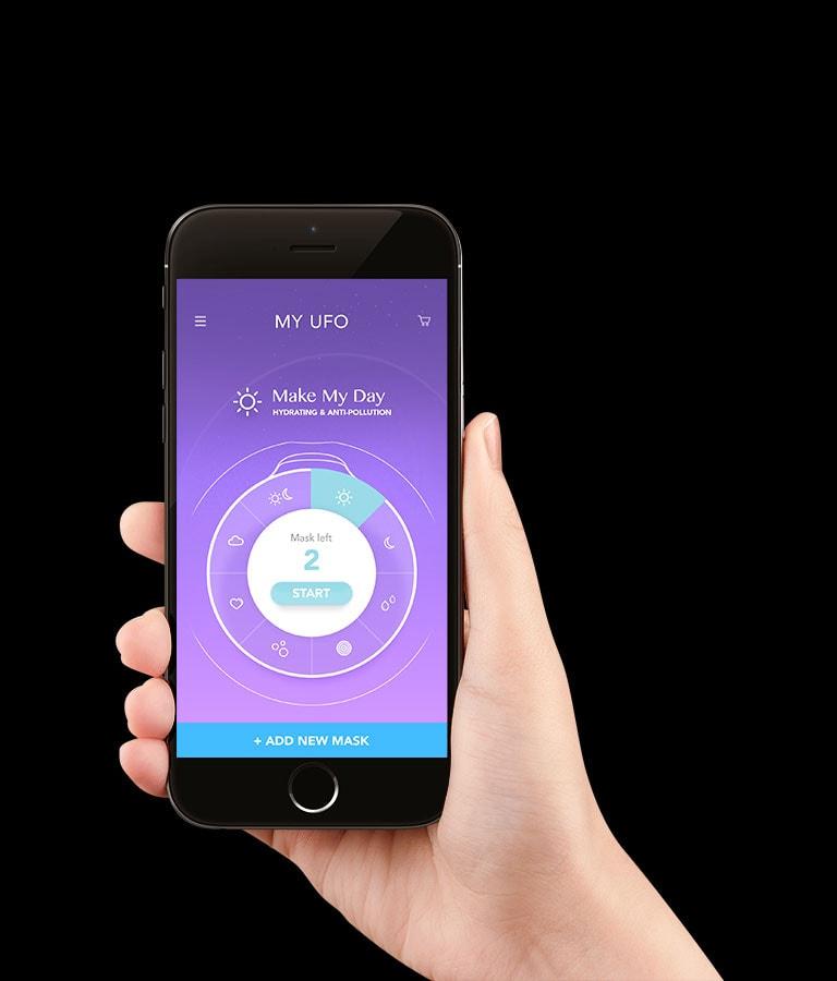Foreo Ufo app